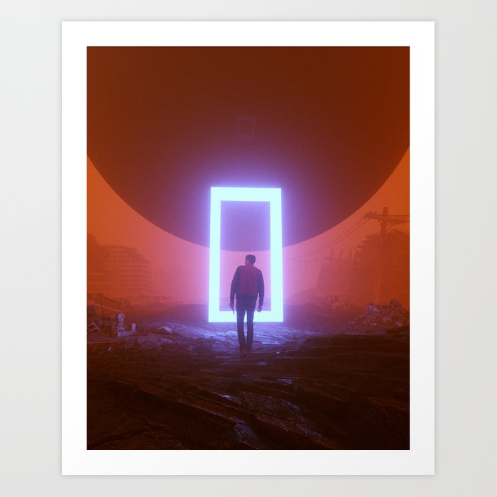 INFINITE LOOP (everyday 08.06.18) Art Print