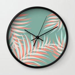 Palms Vision #society6 #decor #buyart Wall Clock