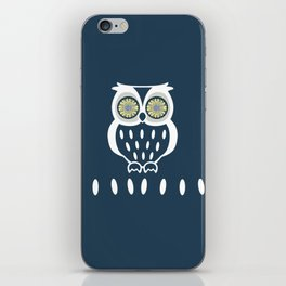 Bright Eyed Owl iPhone Skin
