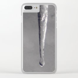 Thawing Apex in the Fight with Gravity Clear iPhone Case