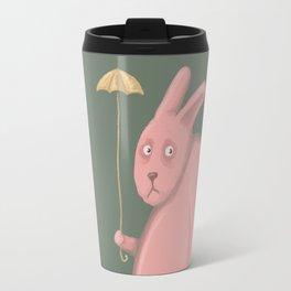 Sad Bunny  Travel Mug