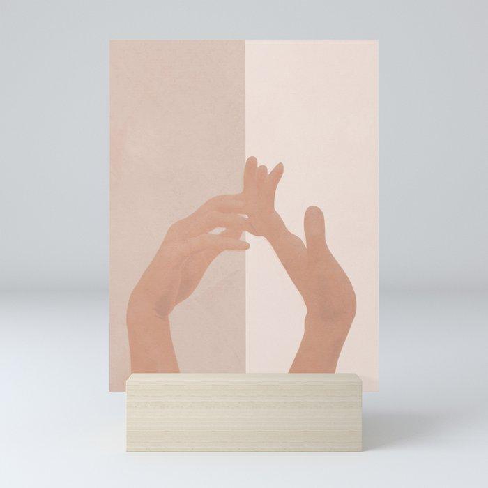 Come with Me Mini Art Print