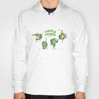 ninja turtle Hoodies featuring Ninja Turtles Turtle Power by MrMaars