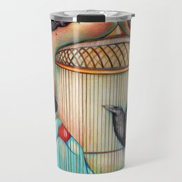 Madame Butterfly - freed from her misery Travel Mug