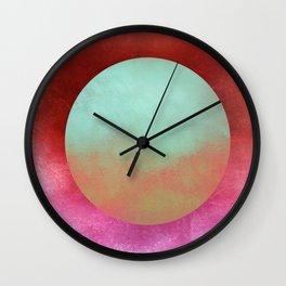 Circle Composition X Wall Clock