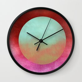 Circle Composition X Wall Clock