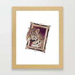 Space Jaguar Framed Art Print