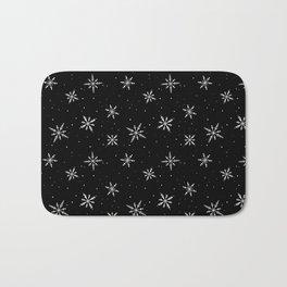 Nordic Snow - White Line Bath Mat