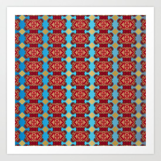 Mix&Match:  Merry Christmas From Tibet (with LOVE!) 02 Art Print