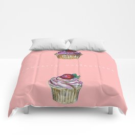 Cupcake confectionery. Comforters