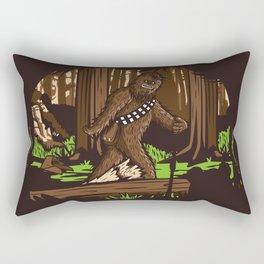 The Bigfoot of Endor Rectangular Pillow