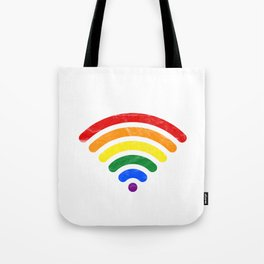 LGBT - Love Hotspot Tote Bag