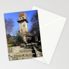 Ancient watchtower. Stationery Cards