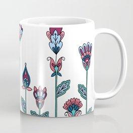 Spring Flowers White Coffee Mug