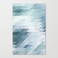 polygon Canvas Prints featuring Polygon by JBdesign