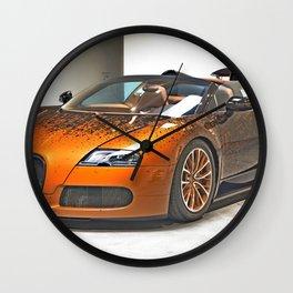 Bugatti Veyron Wall Clock