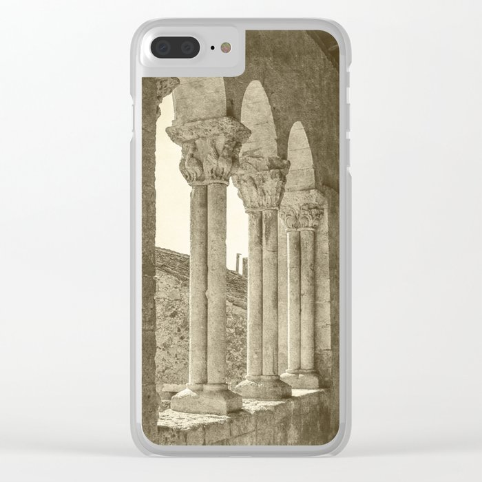 Middle Ages Clear iPhone Case