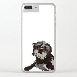 Thor the Dog Clear iPhone Case