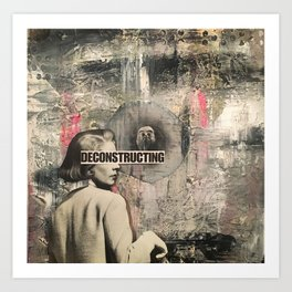 Deconstructing Art Print