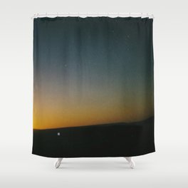 Ranger Texas Sunset Polaroid Shower Curtain