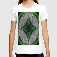 gem T-shirts featuring Green Gem by Sartoris ART