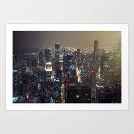 Chi Town Art Print