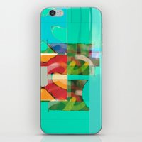 pool iPhone & iPod Skins featuring POOL by  ECOLARTE