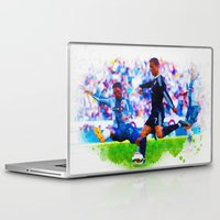 ronaldo Laptop & iPad Skins featuring The Buzz from Cristiano Ronaldo by Don Kuing