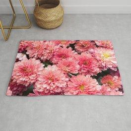 Autumn Kiss Chrysanthemums #1 #floral #art #Society6 Rug
