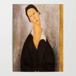 "Amedeo Modigliani ""Portrait of a Polish Woman"" Poster"