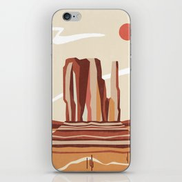 Beyond the Monument iPhone Skin