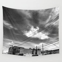 CafeTazo SF Street Photo Wall Tapestry
