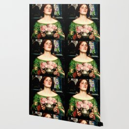 Pre Raphaelite Wallpaper Society6