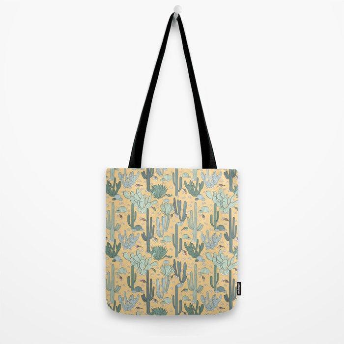 Succulent Guns Tote Bag