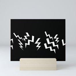 13 Bolts Mini Art Print
