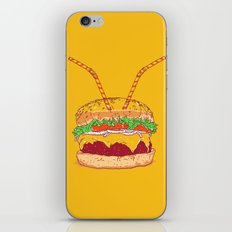 Burger for two iPhone & iPod Skin