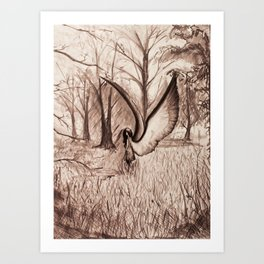In The Clearing Art Print