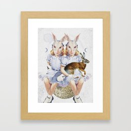 The Visual Perceptions of My Second Self Framed Art Print