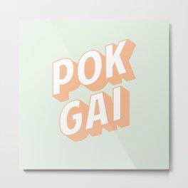 POK GAI Metal Print