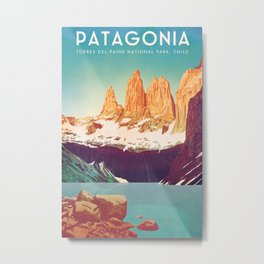 Chile, Patagonia Metal Print
