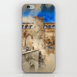 Aljaferia Palace Zaragoza Spain I iPhone Skin