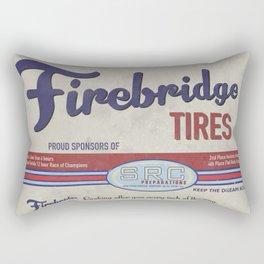SRC Preparations Firebridge Vintage Poster No2 Rectangular Pillow