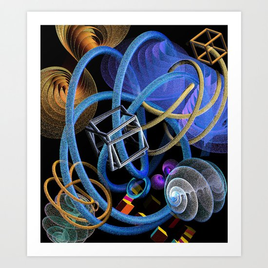 We can Work It Out Art Print