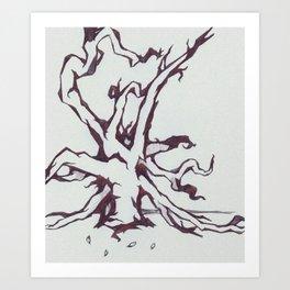 Tree of Jealousy Art Print