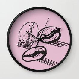 ooo, coffee Wall Clock