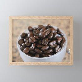 Coffee Beans 2 Framed Mini Art Print