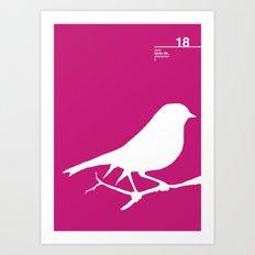 18_birdstfb_I Art Print