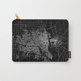 omaha map nebraska Carry-All Pouch