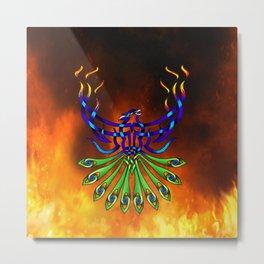 Phoenix-Pacis Metal Print