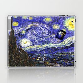 TARDIS STARRY NIGHT Laptop & iPad Skin